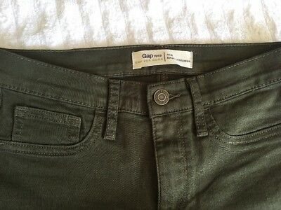 f6a8e002e3af1 GAP 1969 WOMEN'S High Stretch Easy Leggings Jean/Denim Size 29R-EUC ...