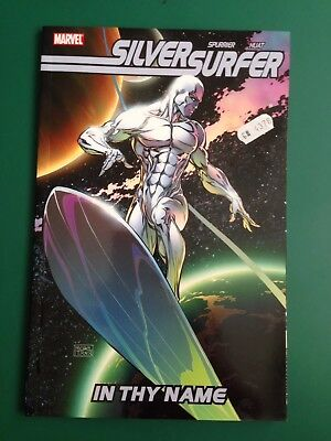 "SILVER SURFER, ""IN THY NAME"" . Graphic Novel. Collecting 1-4, Complete Series."