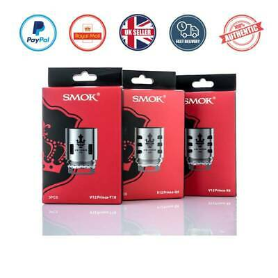 SMOK TFV12 PRINCE Replacement Coils Q4 |X6 |M4 |T10,STRIP, MESH 100% Authentic