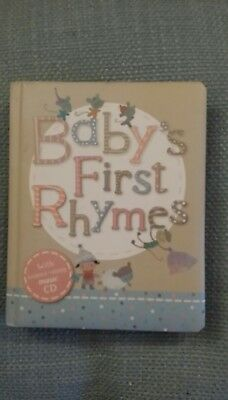 Marks and Spencer Baby's First Rhymes With CD FREE POSTAGE