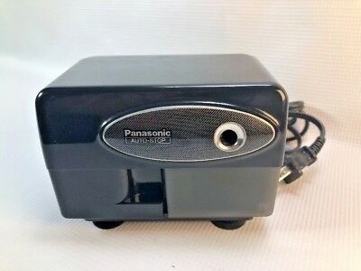 Panasonic KP 310 Black Electric Pencil Sharpener Suction Cup Feet