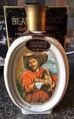 Vintage Jim Beam's Choice The bag piper Volume 7 VII decanter bottle with box