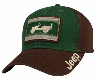 Rare Brand New Officially Licensed Jeep Wrangler Willys Embroidered Logo Cap Hat