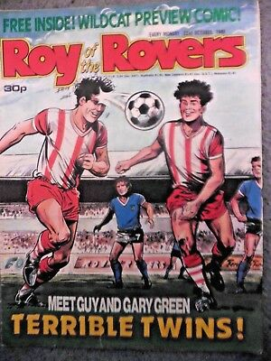 Roy Of The Rovers Comic 22/10/1988 Vintage Rare Vgc