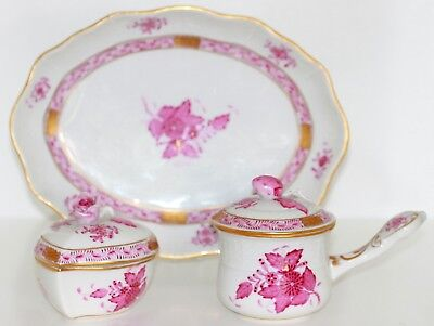 Herend Porcelain Apponyi Purple Pieces Hand Painting 1.wahl