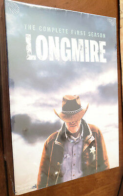 Longmire DVD ALL Season 1-6 Complete DVD Set Collection *NEW & sealed