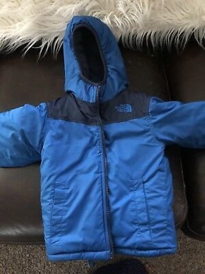 The North Face Toddler Reversible Winter Jacket Size 2T Blue