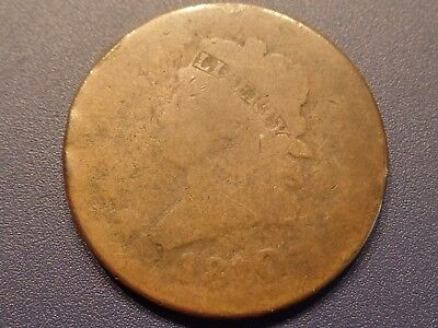 1810/09 Classic Head Large Cent - Overdate