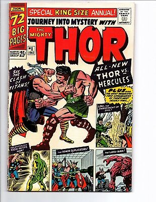 Journey into Mystery Annual #1 THOR (Jul 1965, Marvel) 1st Hercules FN/VF read