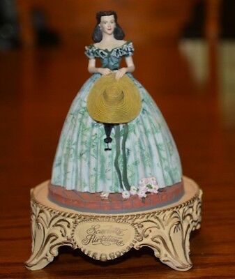 Gone with the Wind Franklin Mint Scarlett's Flirtations sculpture (no dome)