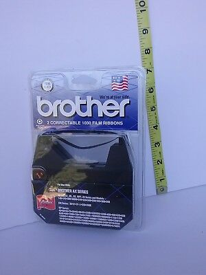 Brother 2 Correctable 1030 Film Ribbons For AX Series Black (NEW)