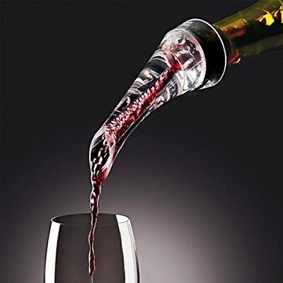 Red Wine Whiskey Aerator Decanter Quick Aerating Pourer Glass Red Wine Bottle