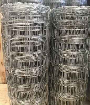 Hinge Joint Wire Fence 8-90-15 100M 62Kg / Ring Lock Fence/rural Fence