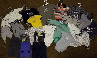 Twin Boy Newborn Lot