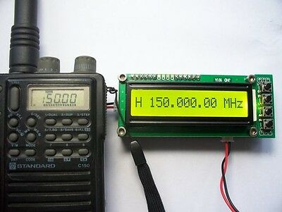 0.1~1100MHz 1.1GHz Frequency Counter Tester Measurement F Ham Radio PLJ-1601-C