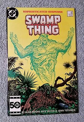 Swamp Thing 37 VF+ range (DC Comics) 1st Constantine