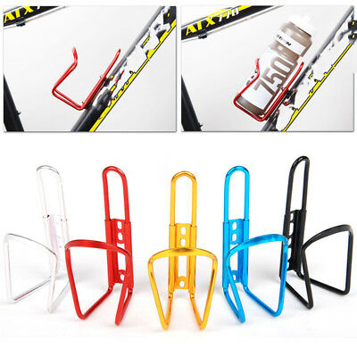 Aluminum Alloy Bike Bicycle Cycling Drink Water Bottle Rack Holder Cage UK