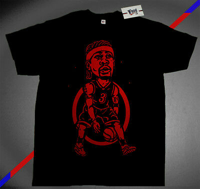 19511379a New Fnly94 Allen Iverson the Answer shirt question 4 Philadelphia jersey  M-4XL
