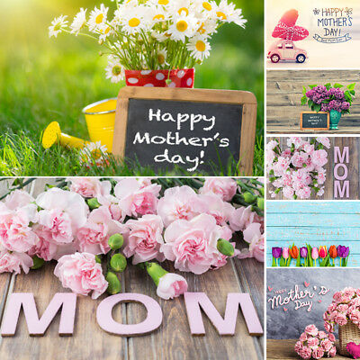 Mothers' Day Vinyl Photography Backdrop Props Photo Background For Floral Studio