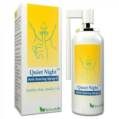 Quiet Night Anti-Snoring Spray 50mL