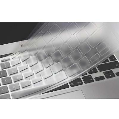 Clear Keyboard Cover Silicone Skin Protector UK Version For Macbook Air 13 Inch