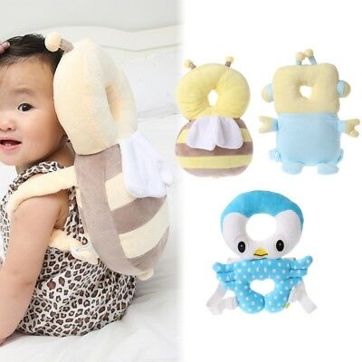 Baby Pillow Head Protection Pad Toddler Headrest Neck Cute Wings Fall Resistance