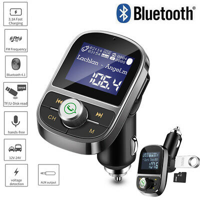 Accessori audio e video Happt Ricevitore Adattatore Audio Universale Bluetooth per Auto FM Trasmettitore Caricatore Vivavoce USB Wireless Accessori