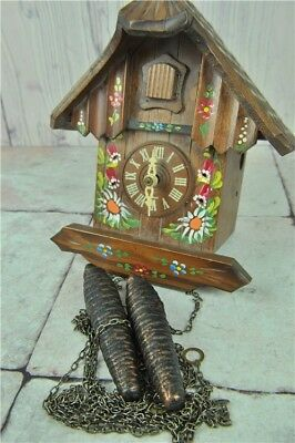 Vintage Cuckoo Clock | Hand Painted In Germany | Good Condition