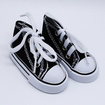 New  1/4 (7.5cm)SD DOD BJD Dollfie Simple and Casual  Canvas shoes Black