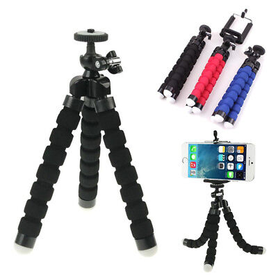 USA Portable Professional Adjustable Camera Tripod Stand Mount Cell Phone Holder