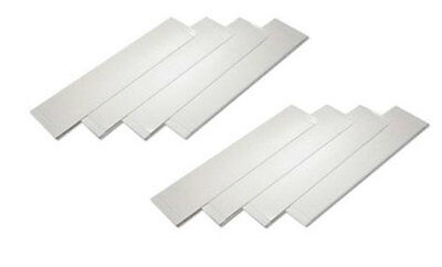 BRAND NEW HEAVY DUTY Adhesive Sticky Pads Car Number Plate 8 Pack - FREE P&P