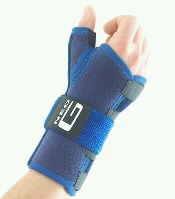 Stabilized wrist and thumb brace ref 996 CLASS 1 MEDICAL DEVICE RH NEW by 'NEO G