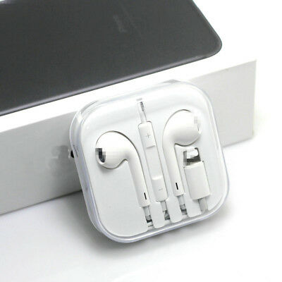 Wired Bluetooth Earphones Headset For Earpods iPhone X 8 7 Plus Mic Headphone