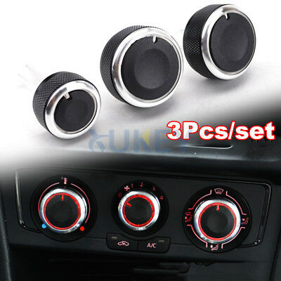 For Skoda Octavia AUDI A3 MK1 New Beetle Heater Climate Control Switch Knobs