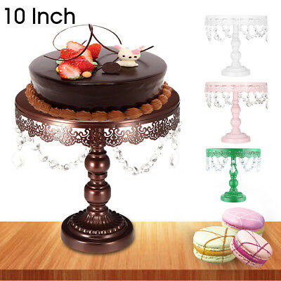 25CM Cake Stand Round Plate Cupcake Dessert Display For Wedding Party Birthday