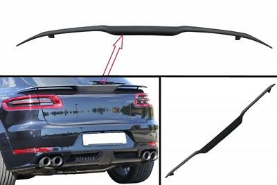 Trunk Boot Spoiler For  Porche Macan 2014+ Rear Wing High Quality Plastic