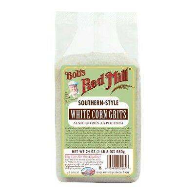 White Corn Grits -Pack of 4. Bobs Red Mill. Shipping Included