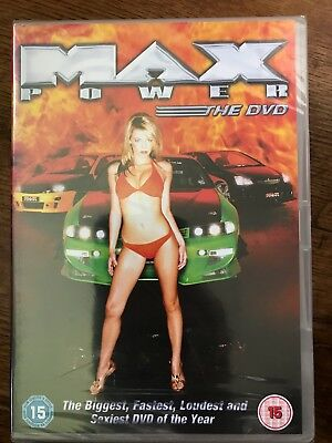 Max Power ~ Auto Enthusiast / Supercar / Babes / ultimative Fan DVD NEU OVP