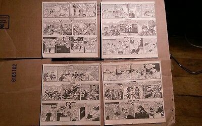 Vintage 1949 Newspaper Comic Strips