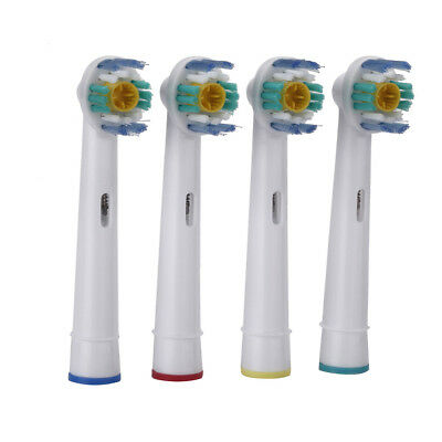 4PCS Electric Tooth Brush Heads Replacement for Braun Oral B Teeth Clean Soft