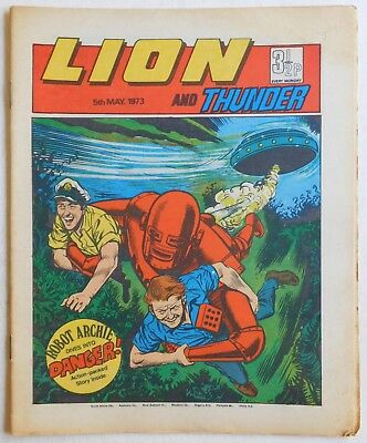 LION and THUNDER Comic - 5th May 1973