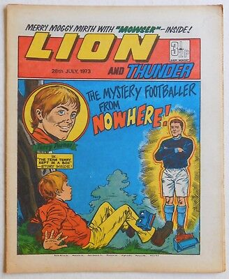 LION and THUNDER Comic - 28th July 1973