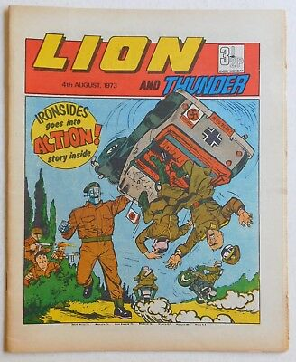 LION and THUNDER Comic - 4th August 1973