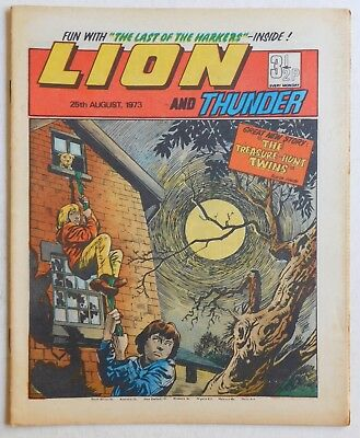 LION and THUNDER Comic - 25th August 1973