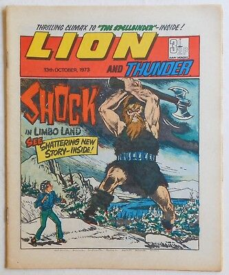 LION and THUNDER Comic - 13th October 1973