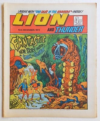 LION and THUNDER Comic - 15th December 1973