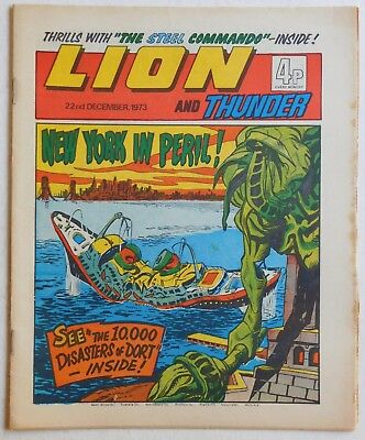 LION and THUNDER Comic - 22nd December 1973