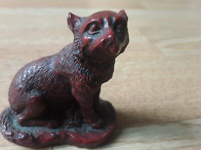 Chinese Red Fox Wolf  Ornament