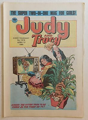 JUDY & TRACY Comic #1318 - 13th April 1985
