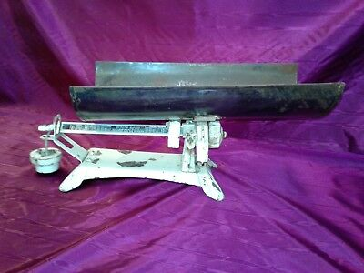 Vintage  Detecto  Beam  Type  Baby  Scale  With  Pan  Balance